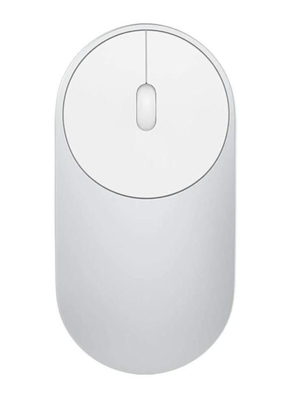 Xiaomi Mi Wireless Portable Optical Mouse, Silver