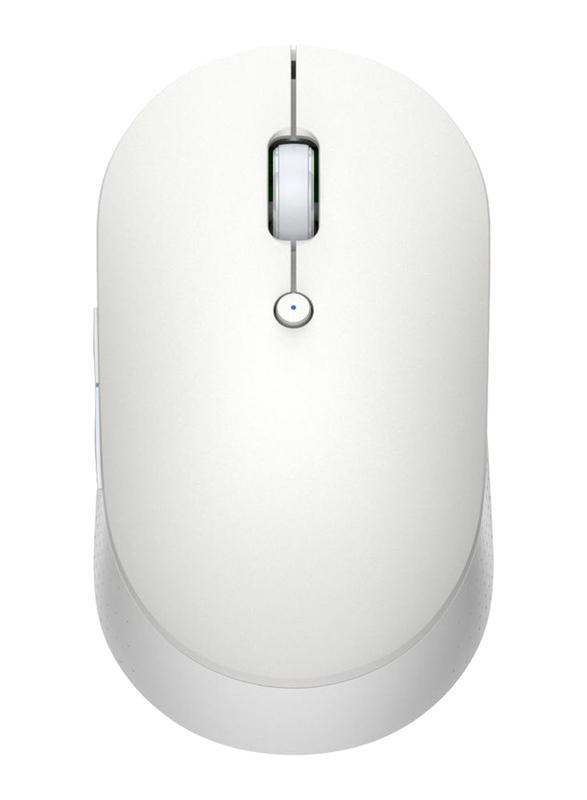 Xiaomi Mi Dual Mode Silent Edition Wireless Optical Mouse, White