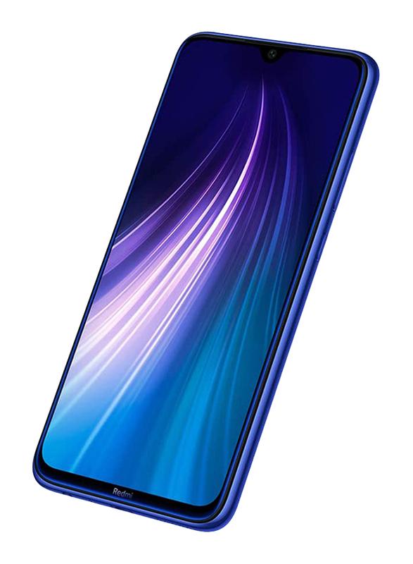 Xiaomi Redmi Note 8 64GB Neptune Blue, 4GB RAM, 4G LTE, Dual Sim Smartphone