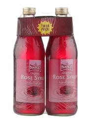 Natco Rose Syrup, 2 Bottles x 725ml