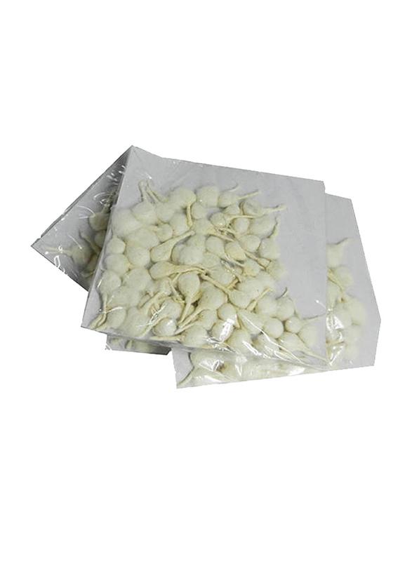 Pooja Cotton Vat, Round, 4 Pieces, White