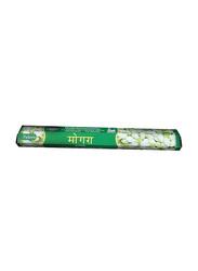 Tulasi Mogra Incense Sticks, 20 Pieces, Green