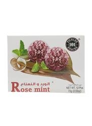 Banarasi Rose Mint, 12 Pieces, 72g