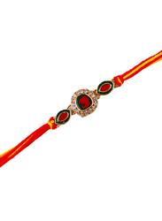 Dana A56 Designer Handcrafted Rakhi, Multicolour