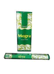 Tulasi Mogra Incense Sticks, Hexa Pack, 6 Pieces, Green