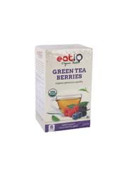 Eatq Berries Green Tea, 25 Tea Bags