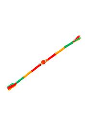 Dana A47 Designer Handcrafted Rakhi, Red/Yellow/Green