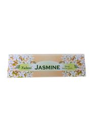 Tulasi Jasmine Incense Sticks, 100 Pieces, White
