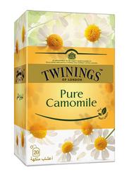 Twinings Pure Chamomile Herbal Tea, 20 Tea Bags