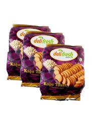 Delifresh Kaju Toast, 3 Pieces x 250g