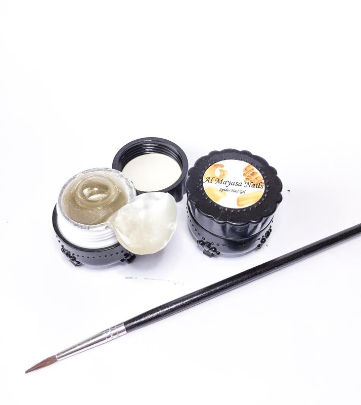 Al Mayasa Nails UV Spider Nail Gel Kit, 5ml, Rose Gold