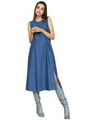 El Flair Sofia Dress, UK 12, Dark Blue