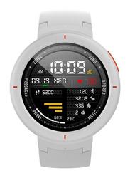 Amazfit Unisex Verge 44mm Smartwatch with Amoled Displays, White