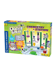 Thames & Kosmos Ooze Labs Chemistry Station Stem Experiment Kit, Ages 6+