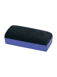 Deli Plastic White Board Eraser, Blue/Black