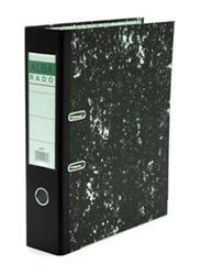 Alba Rado F/S Broad Box File, Black/White