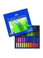 Faber-Castell Creative Studio Goldfaber Soft Pastel Set, 48-Pieces, Multicolor