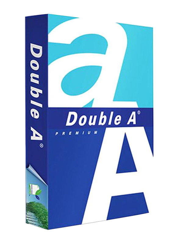 Double A Premium 80GSM Photo Paper, 500 Sheets, A3 Size, White