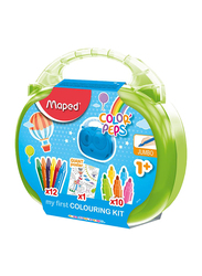 Maped 12-Piece Color Peps Coloring Kit, Multicolor