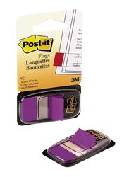 3M Post-It Flags Sticky Notes, 2.54 x 4.32cm, 50 Sheets, Purple