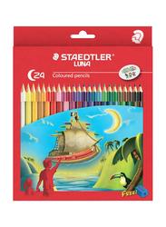 Staedtler 24-Piece Luna Color Pencil Set, Multicolor
