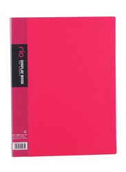 Deli Rio Display Book, 60 Pocket, Pink