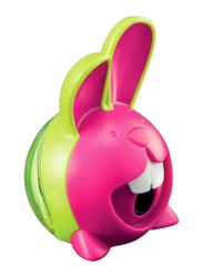 Maped Rabbit Shaped Single Hole Sharpener, Pink/Green