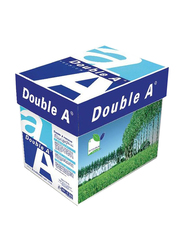 Double A Premium 80GSM Printer Paper, 5 x 500 Sheets, A4 Size, White
