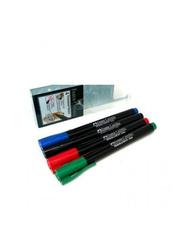 Faber-Castell 4-Piece Permanent Marker Set, Multicolour