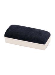 Deli Magnetic White Board Eraser, Grey/Black