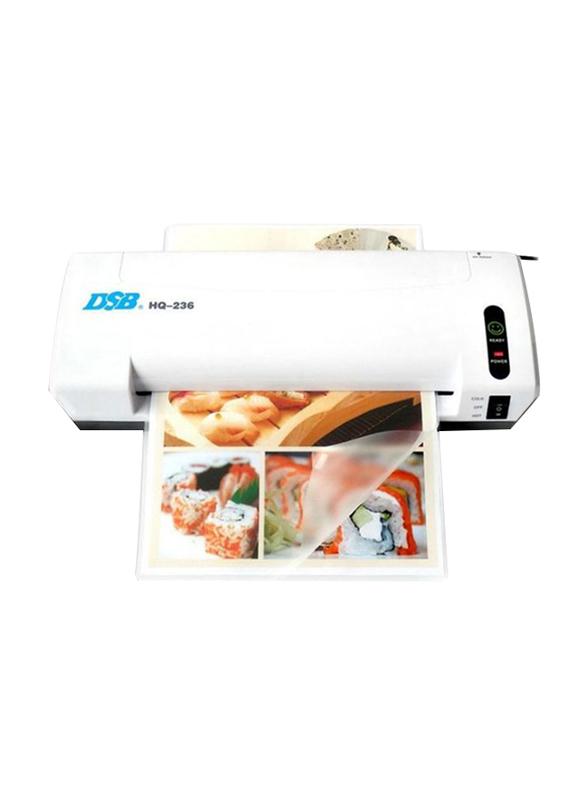 DSB A4 Standard Laminating Machine, White