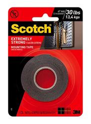 3M Scotch Extreme Mounting Tape, Black