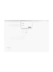 Partner Compact Document File Bag, White