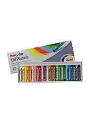 Pentel Arts Oil Pastels Set, 25 Pieces, Multicolour