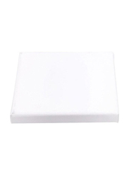 Blank Square Artist Canvas Wooden Board Frame, 5 Piece, White