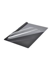 Durable A4 Size Duraclip File, 25-Piece, Black/Clear