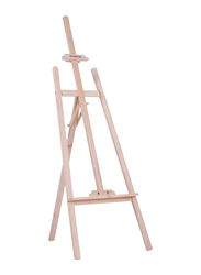 Aibecy Wooden Easel Sketch Drawing Canvas Stand, 150cm, Beige