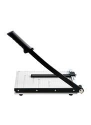 Deli Paper Cutter A4 Scissors, Black