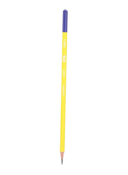 Deli 12-Piece U-Touch Graphite Pencil Set, Yellow/Purple
