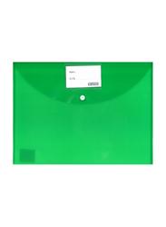 Partner Fullscape Document File Bag, 350 x 250mm, Green
