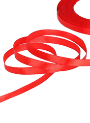 Itelker 25 Yard Satin Ribbon Party Decoration Supplies, Red
