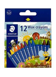 Staedtler Noris Club Wax Crayon Set, 12 Pieces, Multicolour