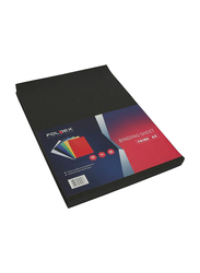 Partner A3 Embossed Binding Sheet, 100 Pieces, Black