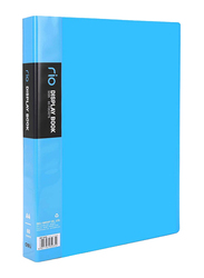 Deli Front Pocket File Folder, 60 Pockets, A4 Size, Multicolor