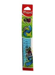 Maped Twist N Flex Original Ruler, Blue