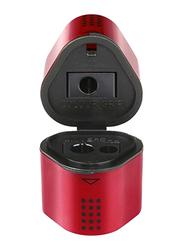 Faber-Castell Trio Sharpener Box, Red/Black
