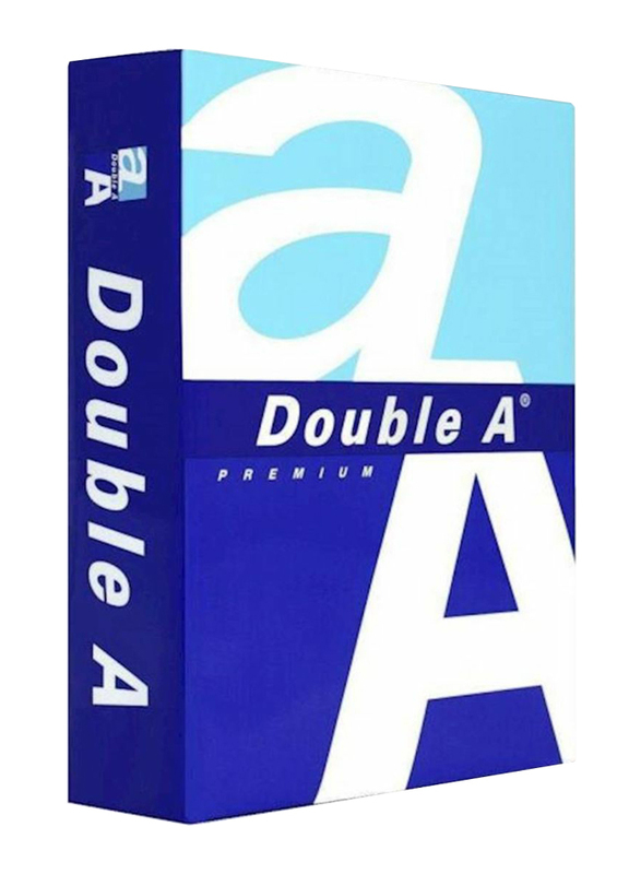 Double A Premium 80GSM Printer Paper, 250 Sheets, A4 Size, White
