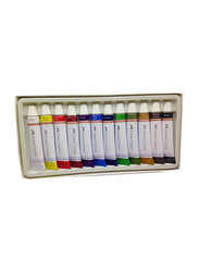 Faber-Castell Water Colour Tubes Set, 12 Pieces x 12ml, Multicolour
