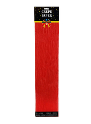 Crepe Paper, 5-Pieces, Red
