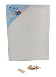 Prima Cotton Artist Canvas Board, 20 x 30cm, White